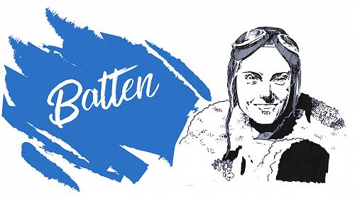 Batten House - Blue