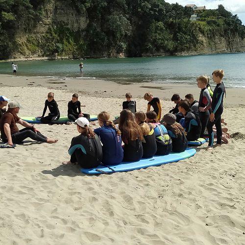 Year 9 Surfing day