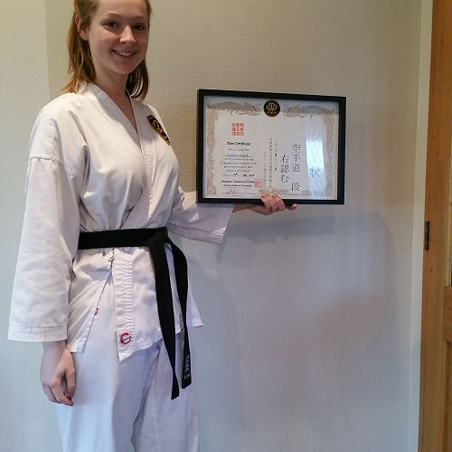 New Karate Black Belt