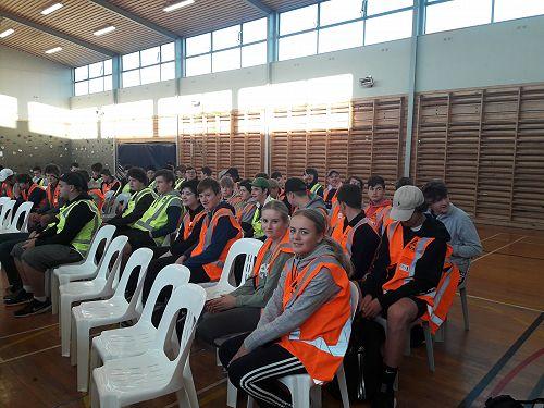 Students at Ara Trade Sector Day