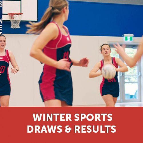 Winter Sports Draws & Results