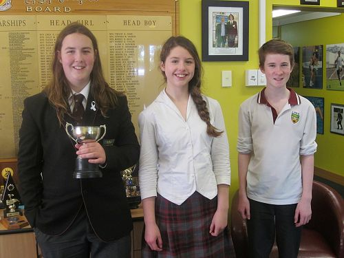 Otago Champion for Junior Speakers - Oscar LaDell