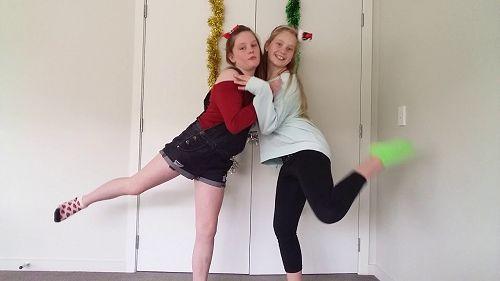 Last Christmas dance