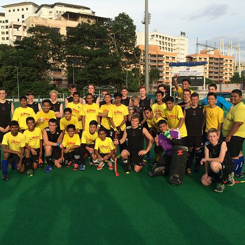 JMC boys on their Hockey Tour in Malaysia