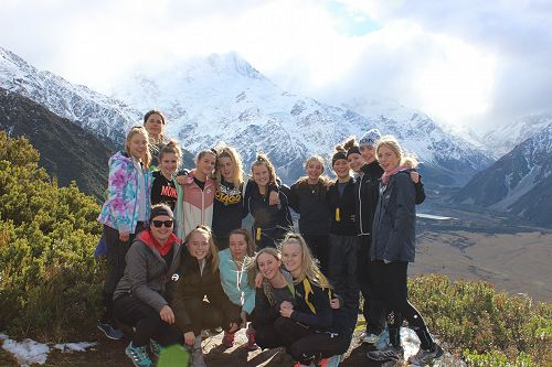 At the top of the Red Tarns track enjoying the amazing view!