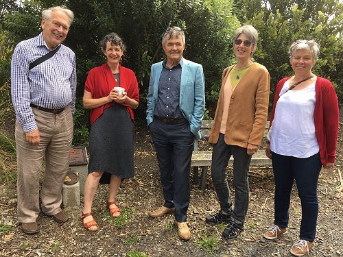 John Holmes(Back Beach Writers Group), Nicky Chapm