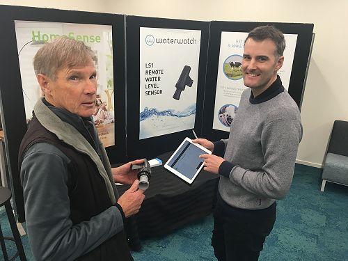 Tussock Innovation's revolutionary Waterwatch prod