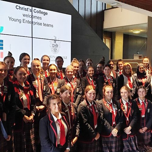 Business Studies Students At Christ's College