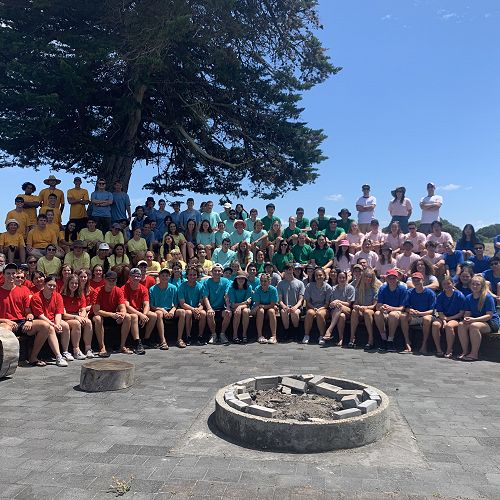 Year 13 Camp Group Image