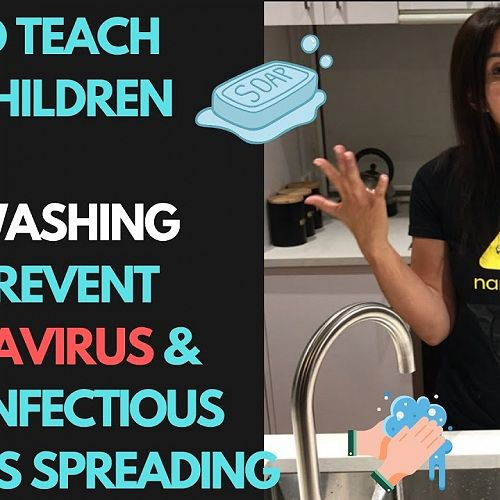 Video: How to teach your children how hand washing helps prevents the spread of coronavirus