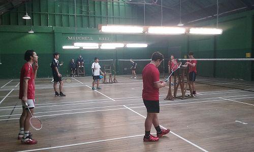 Waitaki Boys' High School Interschool - Badminton