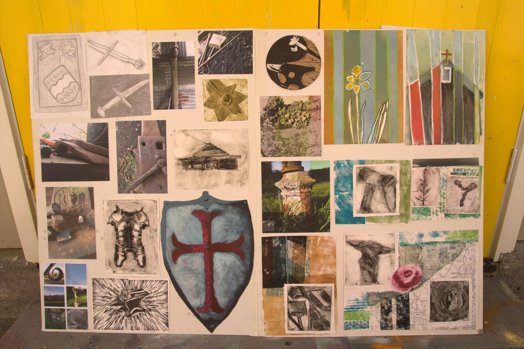 Marion Brett - NCEA Level 1 Art portfolio