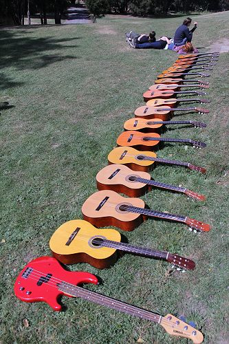 Music Camp guitars