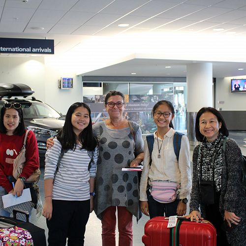 Thai Visitors