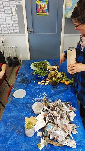 Compost Workshop in I2 with Lady X