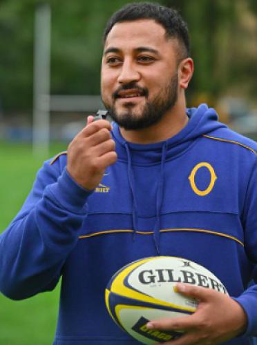 Tamua Ioane - Otago Rugby Referee Education Officer