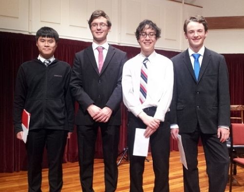 Chamber Music Winners