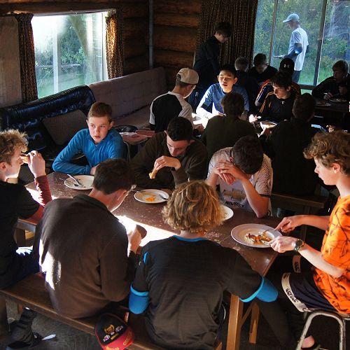 Breakfast at Huxley Lodge