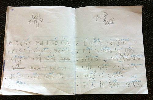 Letter to Paddington
