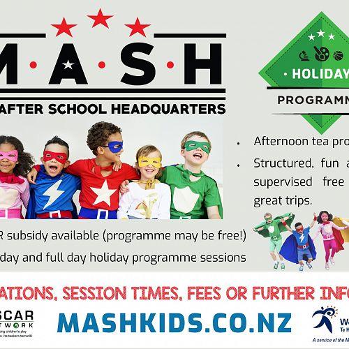 MASH Holiday Programmes