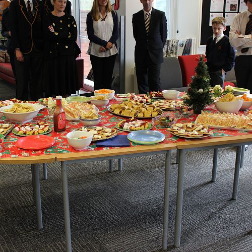 Library Christmas Party 2015