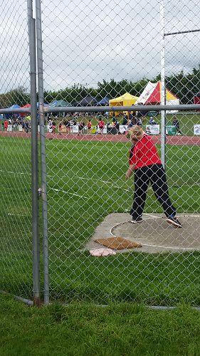 Jessica Adams-Stachurski at the SISS Athletics