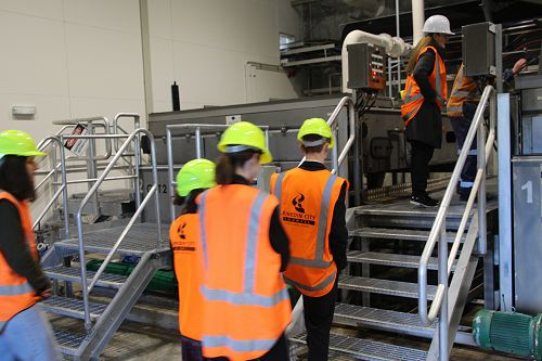 Water Waste Treatment Plant Visit