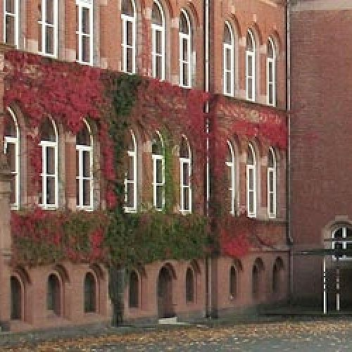 Viktoria Schule, the gymnasium in Darmstadt, Germany where Clara goes to school