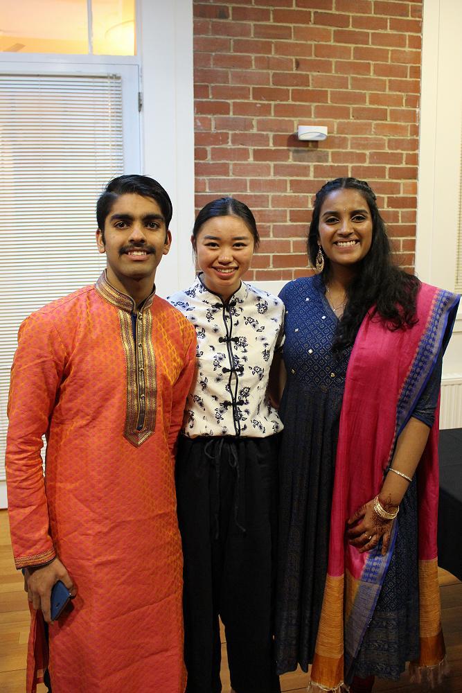Members wear their cultural garments