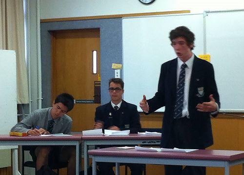 Tim Adler kicks off proceedings as the first speak
