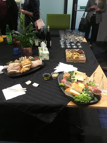 Networking & nibbles!