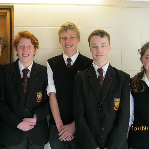 Maths Department Competition Winners