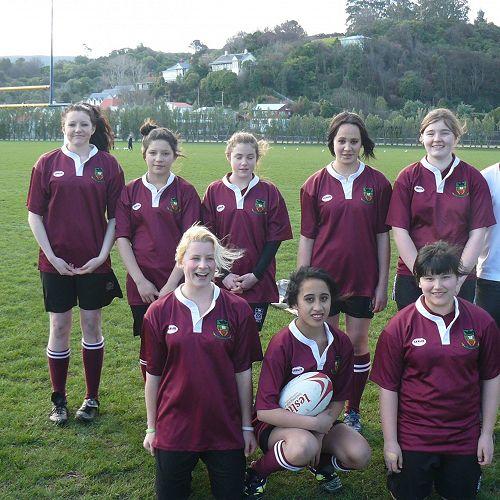 Girls Sevens Rugby team