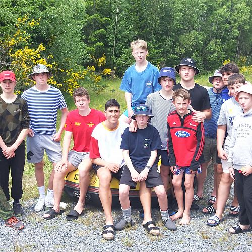 Year 10 Rafting Camp