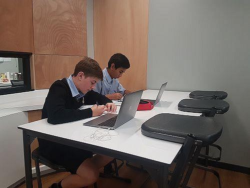 Shirley Boy's classroom