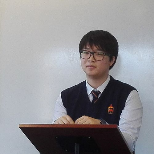 Min Jeong (South Korea) talked about why he came to New Zealand and also about the Auckland housing crisis.