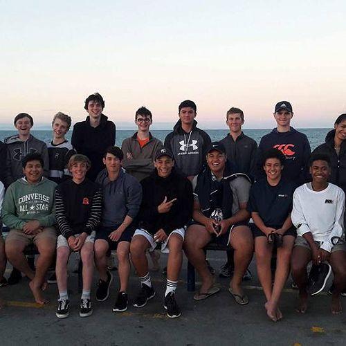 Senior A and B group photo at Senior South Island Champs