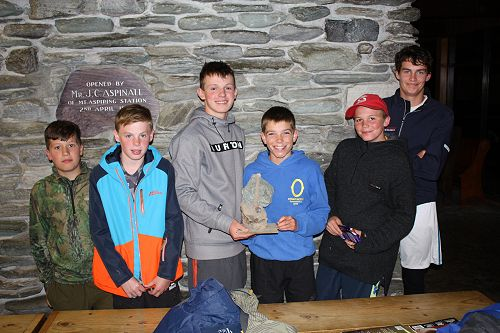 Overall winners of the Matukituki Trophy presented