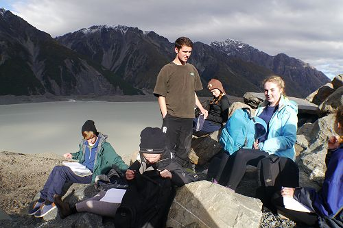 Year 11 Mt Cook Field Trip