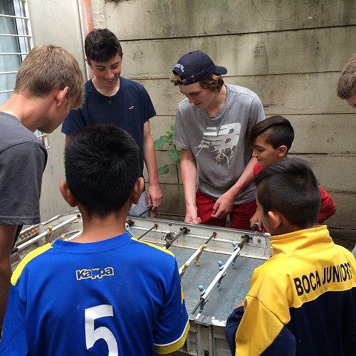 Social centre visit