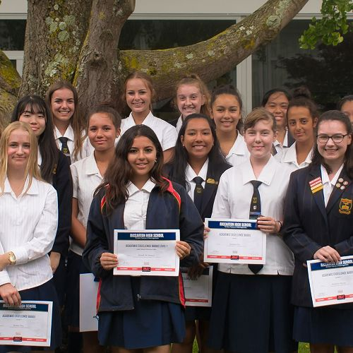 Year 12 Level 1 Excellence Endorsements