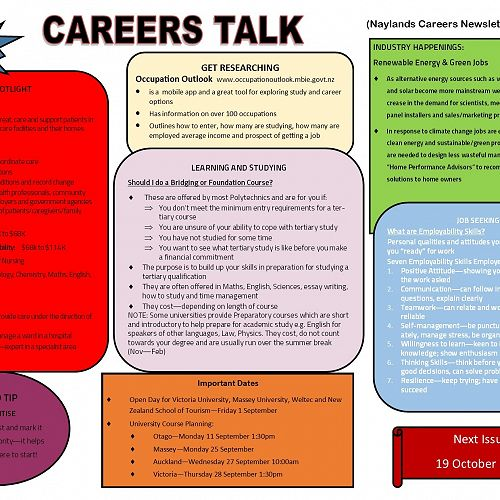 Careers Talk