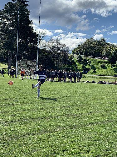 Prefects v Staff Football Match