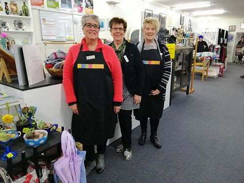 Mosgiel Shop - Sue, Carol and Val