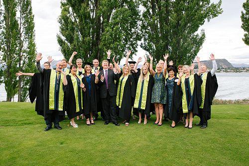 Nicky Third Graduation