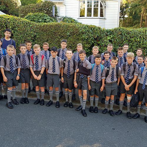 First day at Otago Boys High School-Year Nine