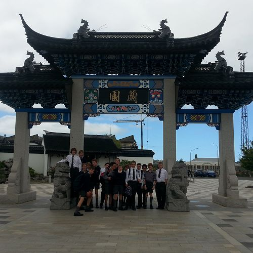 Year 9 Drama field trip to the Dunedin Chinese Garden