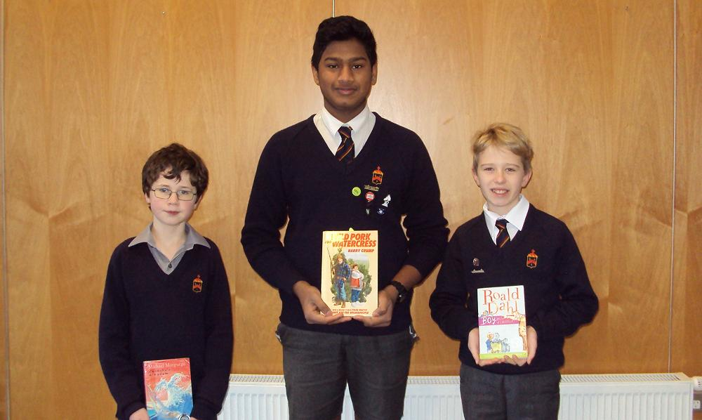 Yr 7 & 8 Prepared Reading Winners 2017