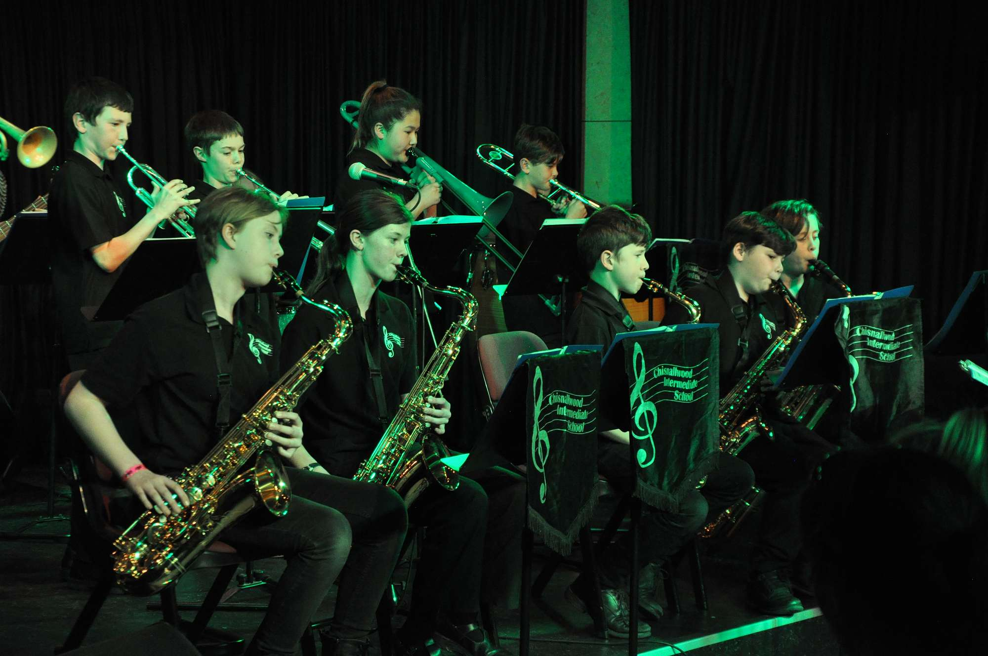 Chisnallwood Jazz Band performing at Junior Jazz Jam