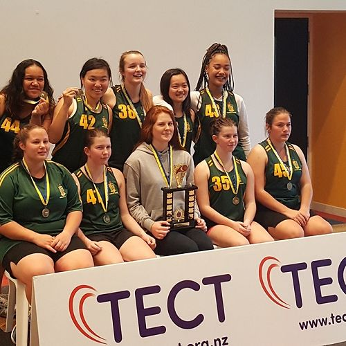 Girls' Senior Team Champions Div 2 Basketball League